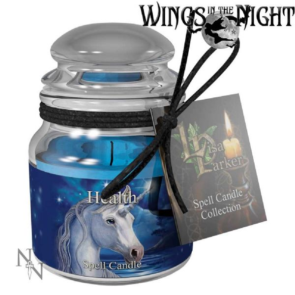 Lisa Parker HEALTH Spell Candle Jar by Nemesis Now
